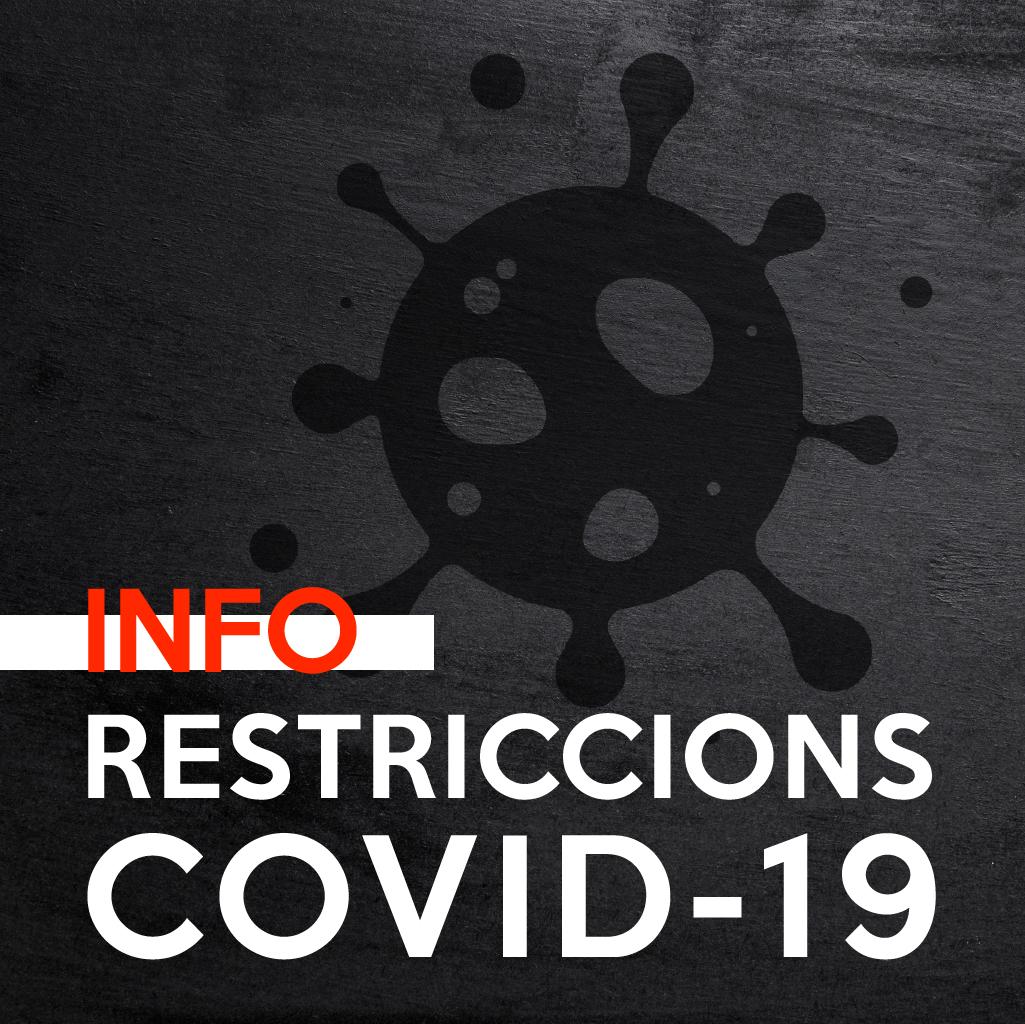 Restricciones Actuales En Los Centros De Catalunya (COVID 19)