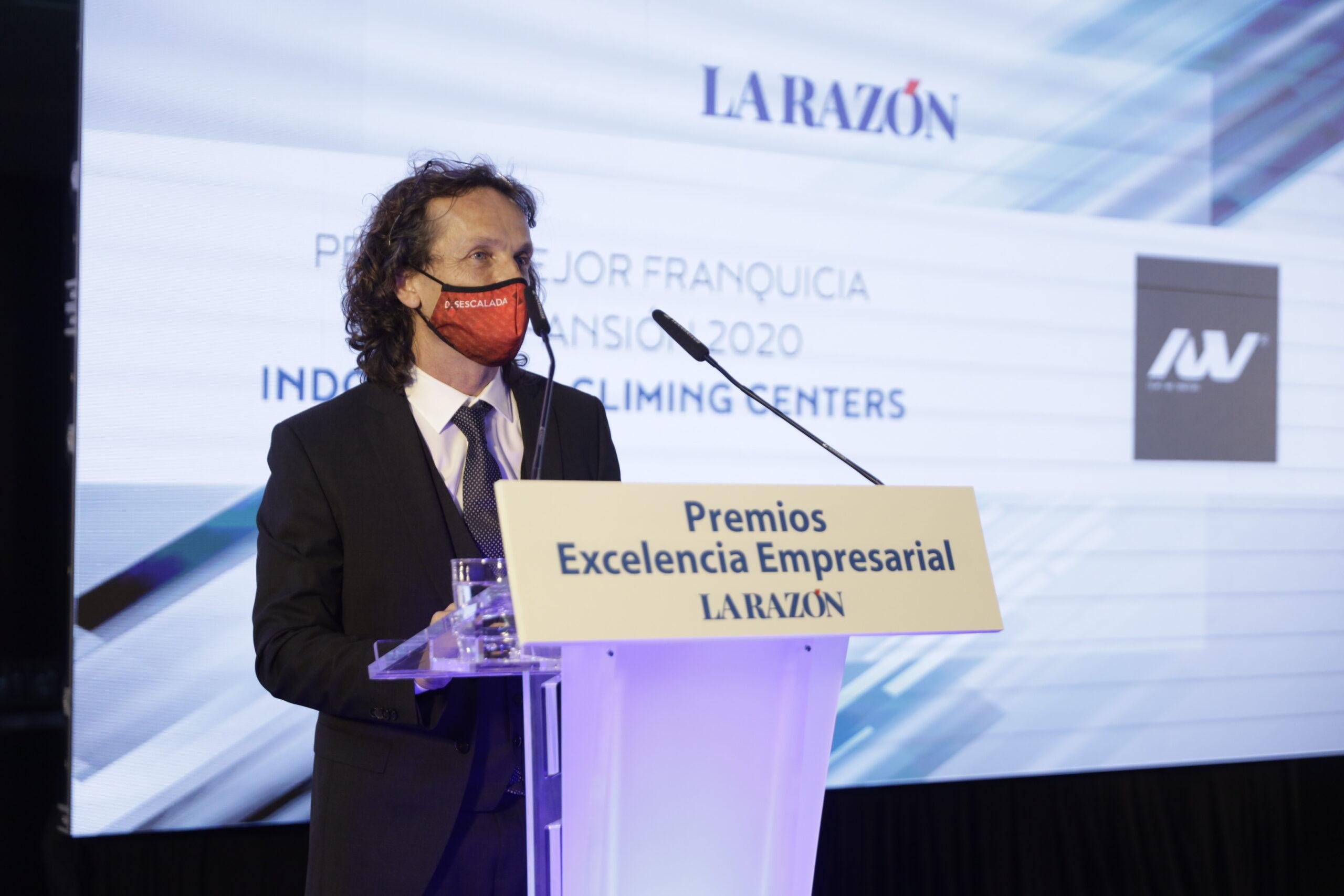 Indoorwall Premiado Como Mejor Franquicia En Expansión De 2020.