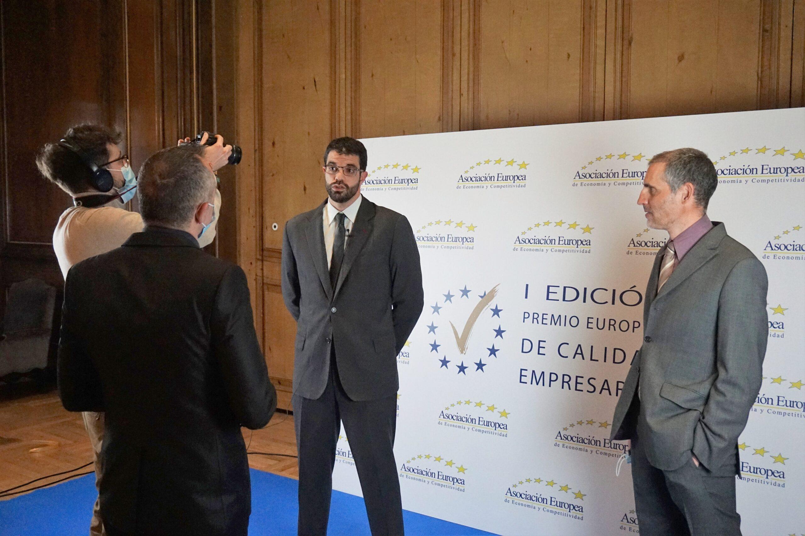 Indoorwall Recibe El Premio Europeo A La Calidad Empresarial 2021